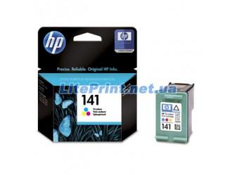 Оригинальный струйный цветной картридж HP - 141, Color