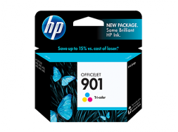 Оригинальный струйный цветной картридж HP - 901, Color