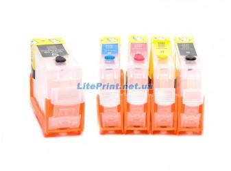 Комплект ПЗК для Canon - iP4200, iP4300, iP4500, iP5200, iP5300