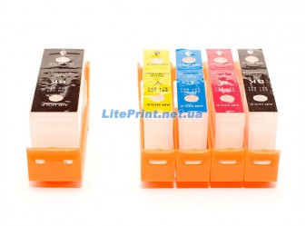 Комплект ПЗК (с чипами) для Canon - iP3600, iP4600, iP4700, iP4840, iP4940, MG5140
