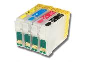 Комплект ПЗК для Epson - Refill4 - C64, C66, C84, C86, CX3600, CX3650, CX6400, CX6600