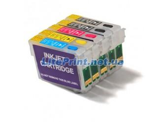 Комплект ПЗК для Epson - Refill5 - XP600, XP605, XP700, XP800, XP850