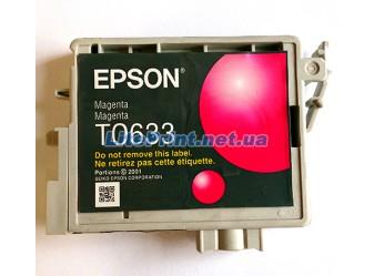 Оригинальный картридж Epson T0633, Magenta