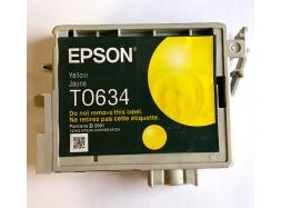 Оригинальный картридж Epson T0634, Yellow