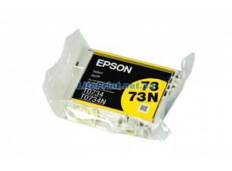 Оригинальный картридж Epson T0734, Yellow