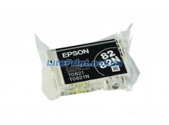 Оригинальный картридж Epson T0821, Black