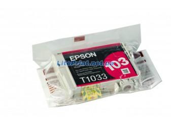 Оригинальный картридж Epson T1033, Magenta