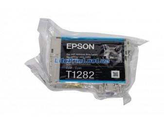 Оригинальный картридж Epson T1282, Cyan