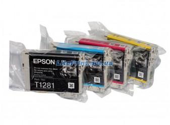 Комплект оригинальных картриджей Epson T1281 - T1284