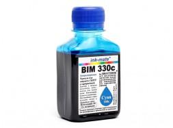 Водорастворимые чернила для Brother - Ink-Mate - BIM 330, Cyan, 100 г