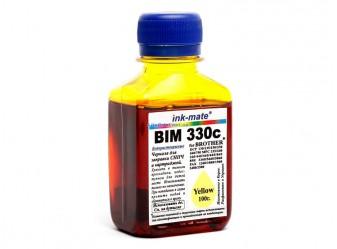 Водорастворимые чернила для Brother - Ink-Mate - BIM 330, Yellow, 100 г