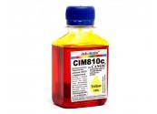 Водорастворимые чернила для Canon - Ink-Mate - CIM 810, Yellow, 100 г