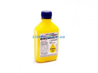 Пигментные чернила для Epson - Ink-Mate - EIM 2400, Yellow, 200 г
