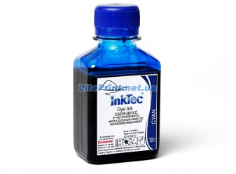Водорастворимые чернила для Canon - InkTec - C5026, Cyan, 100 г