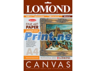 Lomond - Natural Canvas Pigmen Archive - холст, 320 гм2, А4, 10 листов