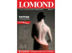 Lomond - Tattoo Transfer - для нанесения временных татуировок, А4, 10 листов