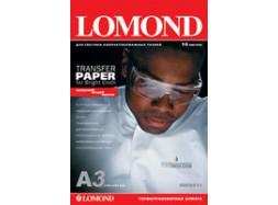 Lomond - Ink Jet Transfer Paper for Bright Cloth, 120 гм2, A3, 50 листов