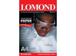 Lomond - Ink Jet Transfer Paper for Bright Cloth, 120 гм2, A4, 50 листов