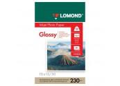 Фотобумага глянцевая Lomond, 230 г/м2, 10x15, 50 листов
