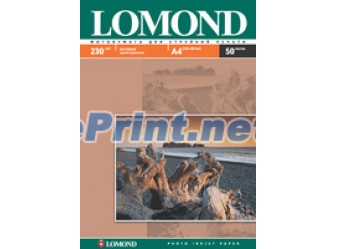 Lomond - Матовая 230 гм2, A4, 50 листов
