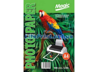 Magic - Матовая 230 гм2, A4, 50 листов