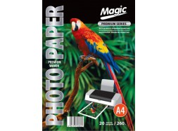 Magic - премиум полотно 260 гм2, A4, 20 листов