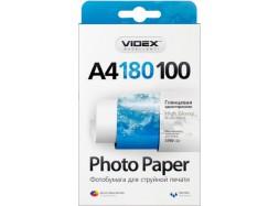 Videx - Глянец 180 гм2, A4, 100 листов