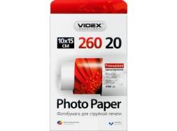 Videx - Глянец 260 гм2, 10x15, 20 листов