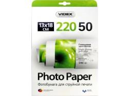 Videx - Глянец 220 гм2, 13x18, 50 листов
