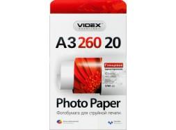 Videx - Глянец 260 гм2, A3, 20 листов