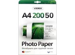 Videx - Глянец 200 гм2, A4, 50 листов