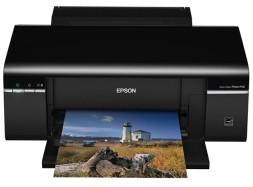 Epson Stylus Photo P50, с СНПЧ и чернилами