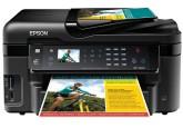 Epson WorkForce WF-3520, с СНПЧ и чернилами
