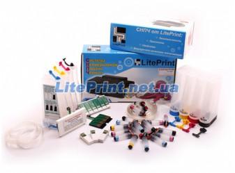 СНПЧ LitePrint для Epson - SX525WD, SX535WD, WF7015, WF7515, WF7525